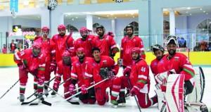 المنتخب الوطني لهوكي الجليد يشارك في بطولة الأندية الأولى للمحترفين بالكويت