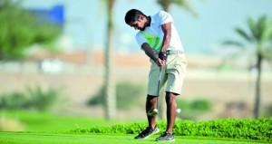 تواصل الإثارة والمنافسة في البطولة الخليجية بنادي غلا للجولف