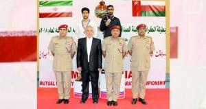 اختتام بطولة الكاراتيه للجنة الصداقة العسكرية العمانية الإيرانية المشتركة