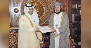 جلالته يتلقى دعوة لحضور المهرجان السنوي لسباق الهجن في الرياض