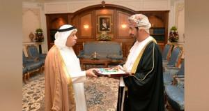 وسام الإشادة السلطانية من الدرجة الأولى لماجد الفطيم
