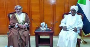 مباحثات عمانية سودانية لتعزيز التعاون خاصة في المجال البرلماني