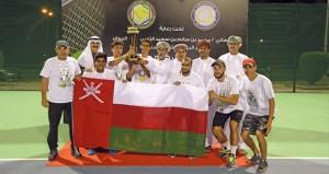 فـي ختام بطولة الخليج للتنس … منتخبنا يحصد ثلاث ذهبيات وبرونزية تحت 18 وبرونزية تحت 14 سنة