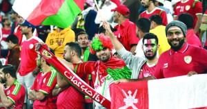 خروج حزين للأحمر العماني أمام ايران