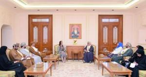مجلسا الدولة والشورى يبحثان تعزيز التعاون مع الاتحاد البرلماني الدولي