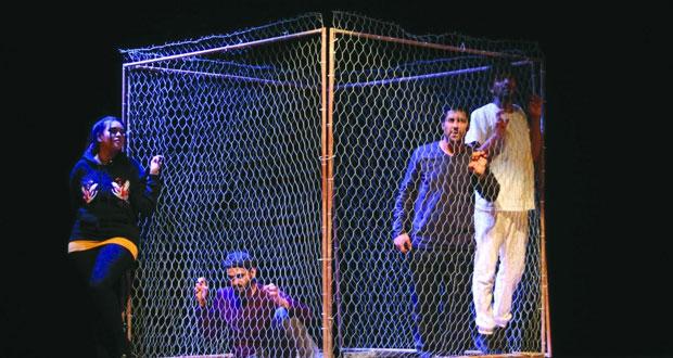 """فرقة """"السلطنة المسرحية"""" تعرض """"مفقود"""" في مهرجان أوال المسرحي الدولي بالبحرين"""