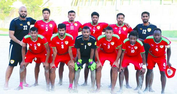 منتخبنا الوطني لكرة القدم الشاطئية يلاقي نظيره الإماراتي في مباراتين وديتين
