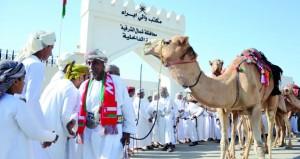انطلاق رحلة الأمجاد للرحالة حمود النهدي إحياء لتراث الآباء والأجداد