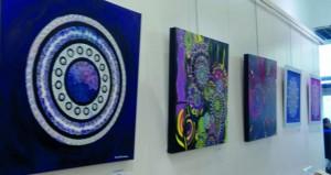 """25 لوحة فنية في معرض """"روحانية"""" التشكيلي الثنائي بالجزائر"""
