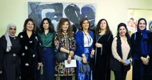 """انعام أحمد تشارك في معرض """"هي"""" في دورته الثانية بمملكة البحرين"""