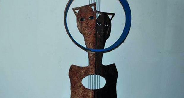 النحّات غسان مفاضلة يستلهم أعماله من تماثيل عين غزال