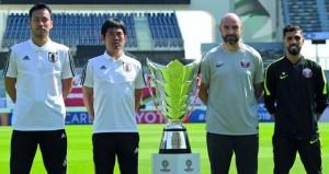 قطر تبحث عن باكورة ألقابها أمام اليابان في كأس آسيا