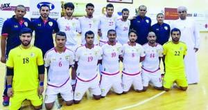 المنتخب الوطني للصالات يستعد لتصفيات كأس آسيا
