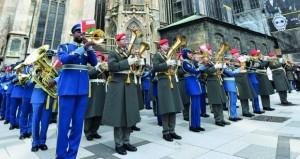 موسيقى سلاح الجو السلطاني العماني تشارك اليوم في أمسية موسيقية بالنمسا