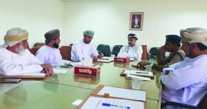 اللـجنة الصحية بولاية بدية تناقش مؤشرات 2018م وتشكل فريق صحي