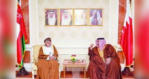 الوزير المسؤول عن الشؤون الخارجية يلتقي وزيري خارجية السعودية والبحرين