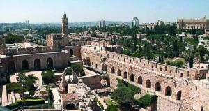 """قلعة """"القدس""""نقطة التقاء بين القدس القديمة داخل الأسوار والقدس الحديثة"""