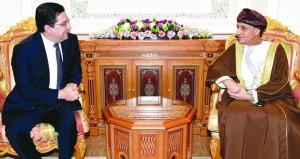 فهد بن محمود يستقبل وزير الشؤون الخارجية والتعاون الدولي بالمملكة المغربية