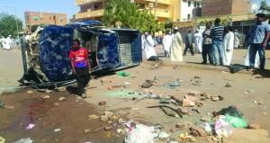 السودان : هدوء نسبي .. والشرطة تنفي إطلاق النار على المتظاهرين