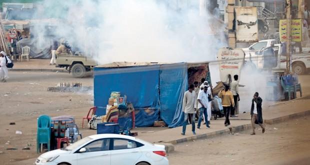السودان : الأمن يفرق احتجاجات جنوب الخرطوم