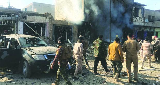 العراق: مقتل وإصابة 4 من الحشد العشائري جنوب تكريت .. و(مفخخة) بالقائم