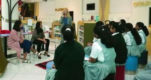 «هيا نقرأ» تواصل فعالياتها بـ«لقاء مع كاتب» وحلقة أدبية للأطفال