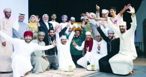 إسدال الستار على فعاليات مهرجان الرستاق العربي للمسرح الكوميدي في دورته الثانية