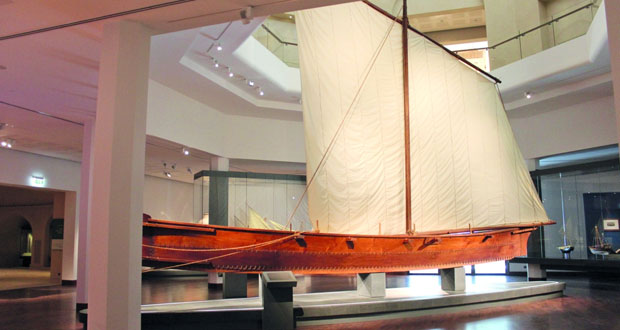 المتحف الوطني يعد لتطوير قاعة التاريخ البحري و مكوناتها استعدادا لتدشينها العام الجاري