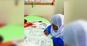 صفاء الصالحية … إبداع في الفن التشكيلي يتجاوز الـ 14 عاما