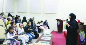 النادي الثقافي ينظم حلقة في الكتابة الإبداعية بولاية خصب بمسندم