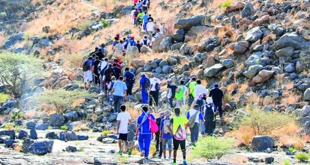 تنفيذ عدد من المشاريع السياحية الجديدة بمحافظة الظاهرة