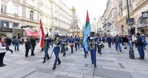 موسيقى سلاح الجو السلطاني العماني تقدم استعراضات في النمسا