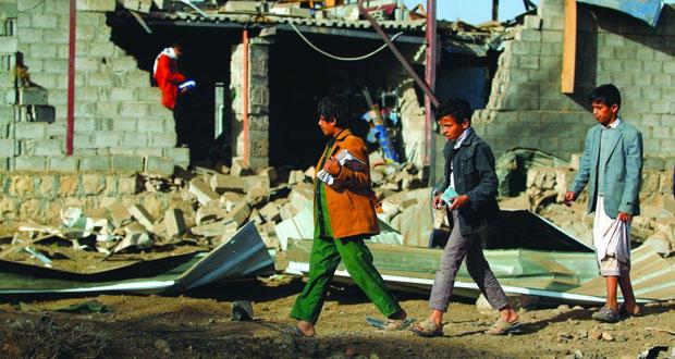 اليمن: قصف لطائرات للتحالف يستهدف صنعاء .. ومقتل 17 من (أنصار الله) في صعدة وتعز