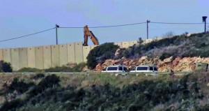 لبنان: إسرائيل تستأنف بناء جدار على حدود الجنوب