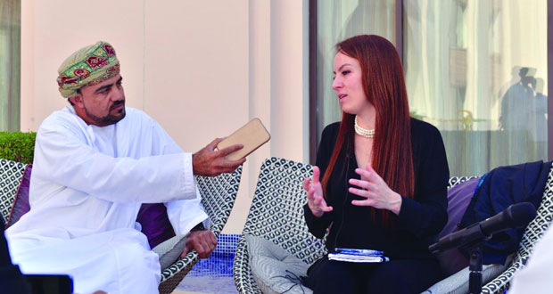 خلال زيارتها الأولى للسلطنة رئيسة الاتحاد البرلماني الدولي : السلطنة تبعث برسائل إيجابية وتسعى لتعزيز الحوار بين دول العالم