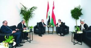 ابن علوي يلتقي وزيري خارجية العراق ولبنان