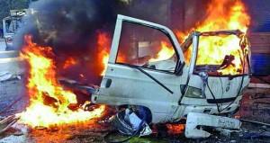 سوريا: انفجار (ملغومة) يحصد 10 قتلى باللاذقية