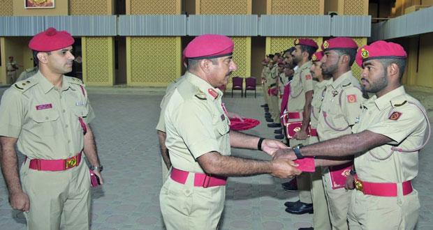 تكريم عدد من منتسبي الفرق الرياضية العسكرية بالجيش السلطاني العماني