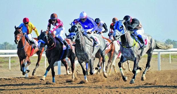 نادي سباق الخيل السلطاني ينظم منافسات سباق الخيل التاسع بمضمار الرحبة