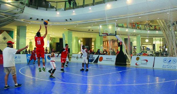 برعاية (الوطن) .. ثمانية فرق من المجموعة الأولى تتأهل لنهائيات بطولة سيمو لكرة السلة 3×3