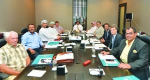 اجتماع مجلس إدارة الاتحاد الدولي لالتقاط الأوتاد
