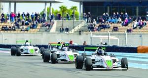طموحات وآمال عريضة للحبسي في الجولة الثانية لبطولة الإمارات للفورمولا ٤