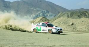 زكريا العامري يشارك في الجولة الثانية لرالي الإمارات