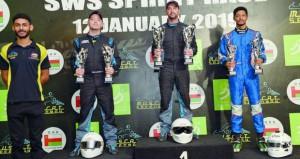 منافسة قوية في سباق أس دبليو أس للكارتينج