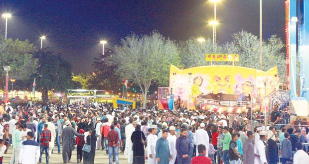 أكثر من 457 ألف زائر لمهرجان مسقط
