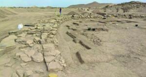 """""""سلوت"""" الأثري يشهد التنقيب في أحد أكبر أبراج الألف الثالث قبل الميلاد"""