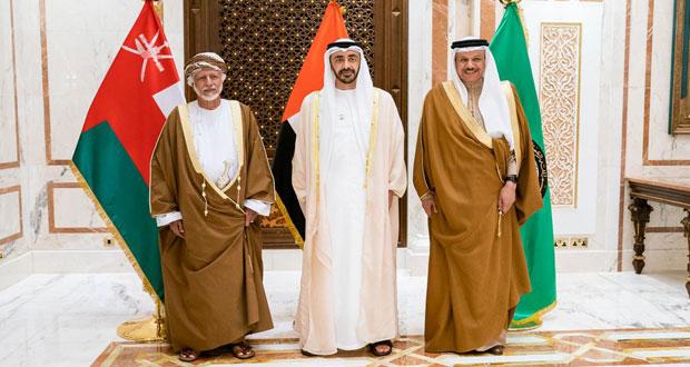 السلطنة والإمارات تبحثان تفعيل مسيرة العمل الخليجي المشترك