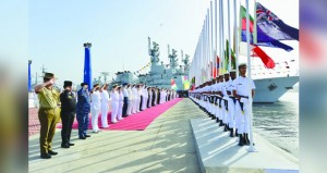 بدء فعاليات التمرين البحري الباكستاني (أمان ١٩) بمشاركة السلطنة