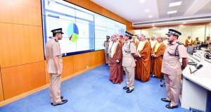 شرطة عمان السلطانية تفتتح مبنى قيادة شرطة محافظة شمال الباطنة