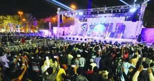 (مهرجان مسقط 2019) يسدل ستاره اليوم بـ700 ألف زائر